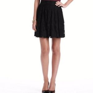 Ann Taylor Loft Black Lace A-line skirt♡NWOT♡Sz.10